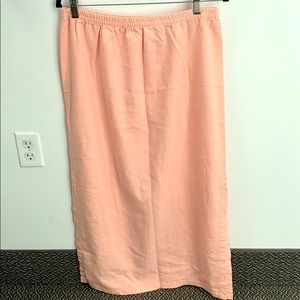 Kathie Lee Collection linen skirt